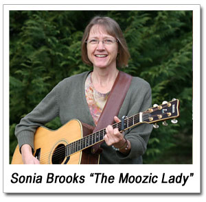 "Sonia Brooks ""The Moozic Lady"""